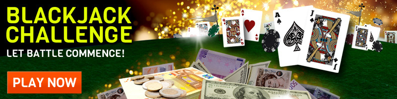 Intercasino blackjack challenge