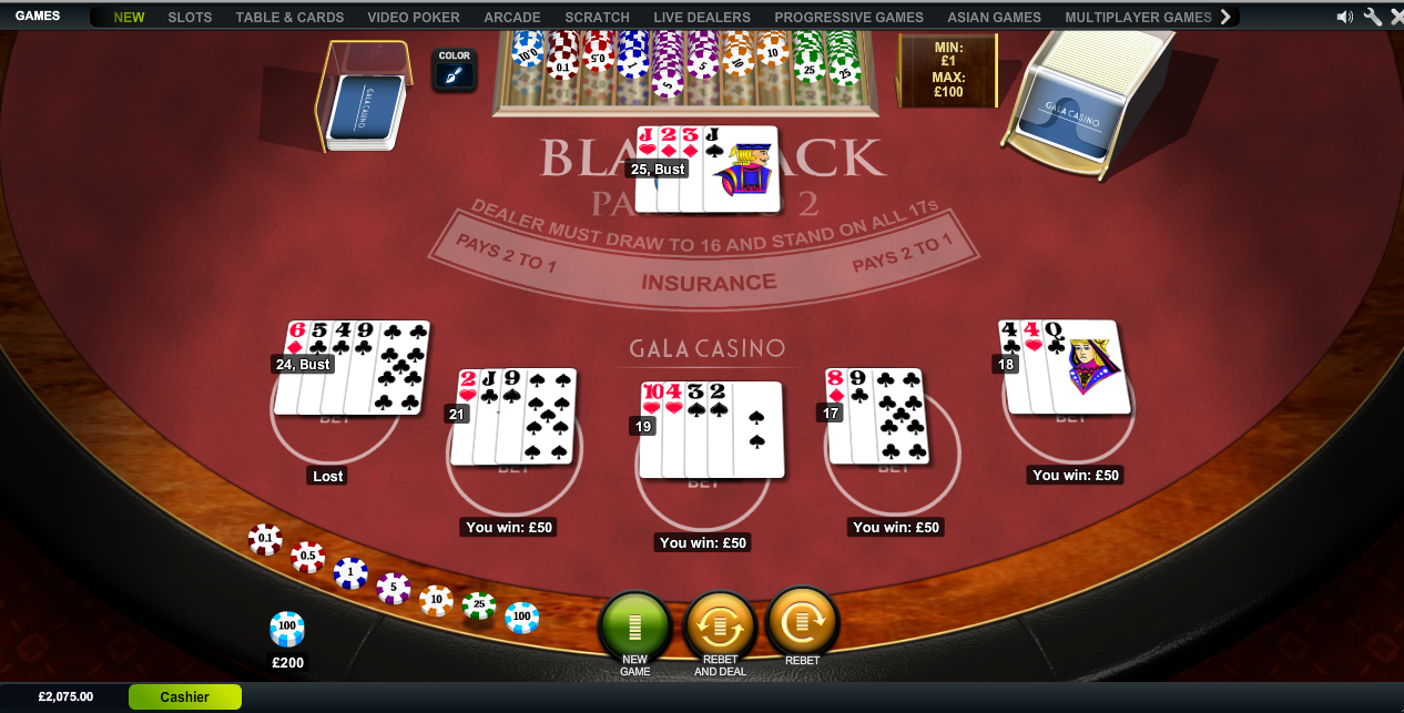 online casino blackjack ring casino