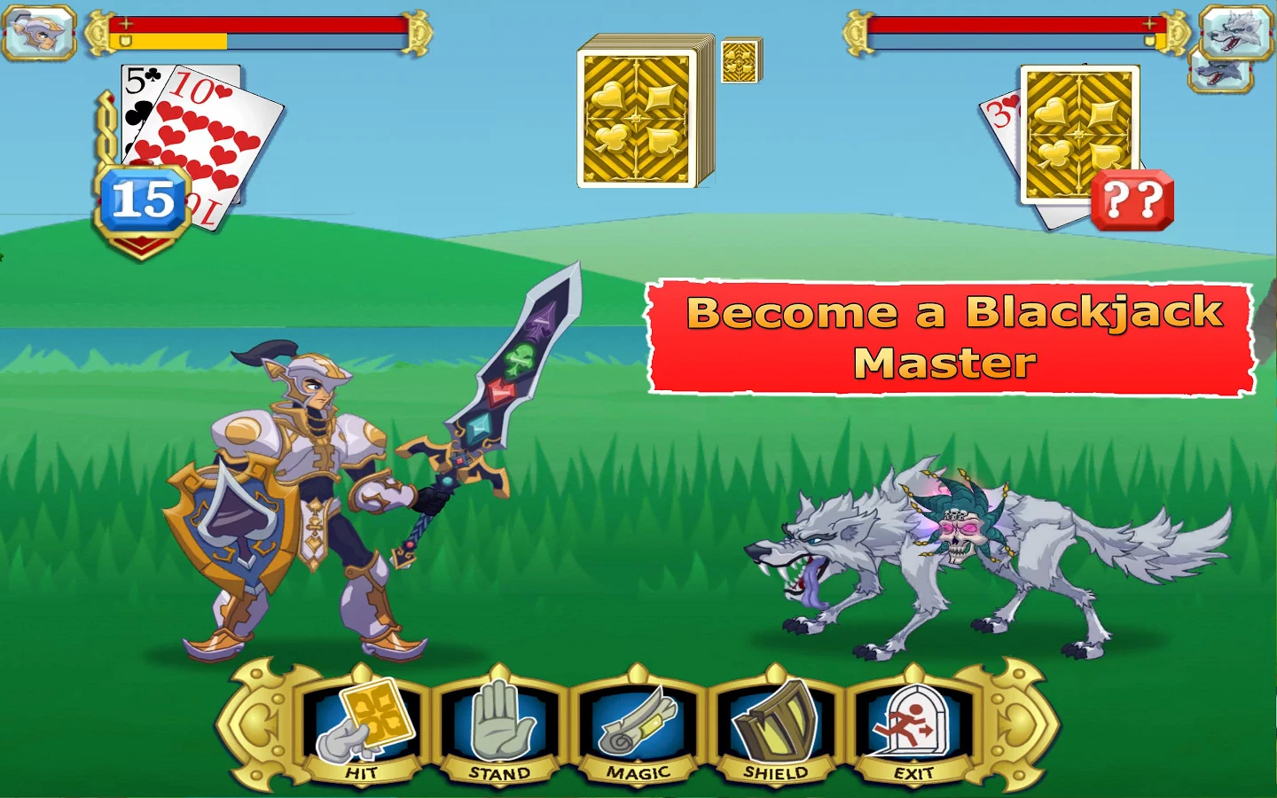 suits and swords game screenshot